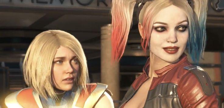 INJUSTICE 2 Supergirl. Harley Quinn.