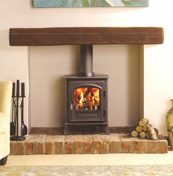 Murphy Heating - Multi-fuel & Wood-burning Stoves - Stovax Riva Plus Small