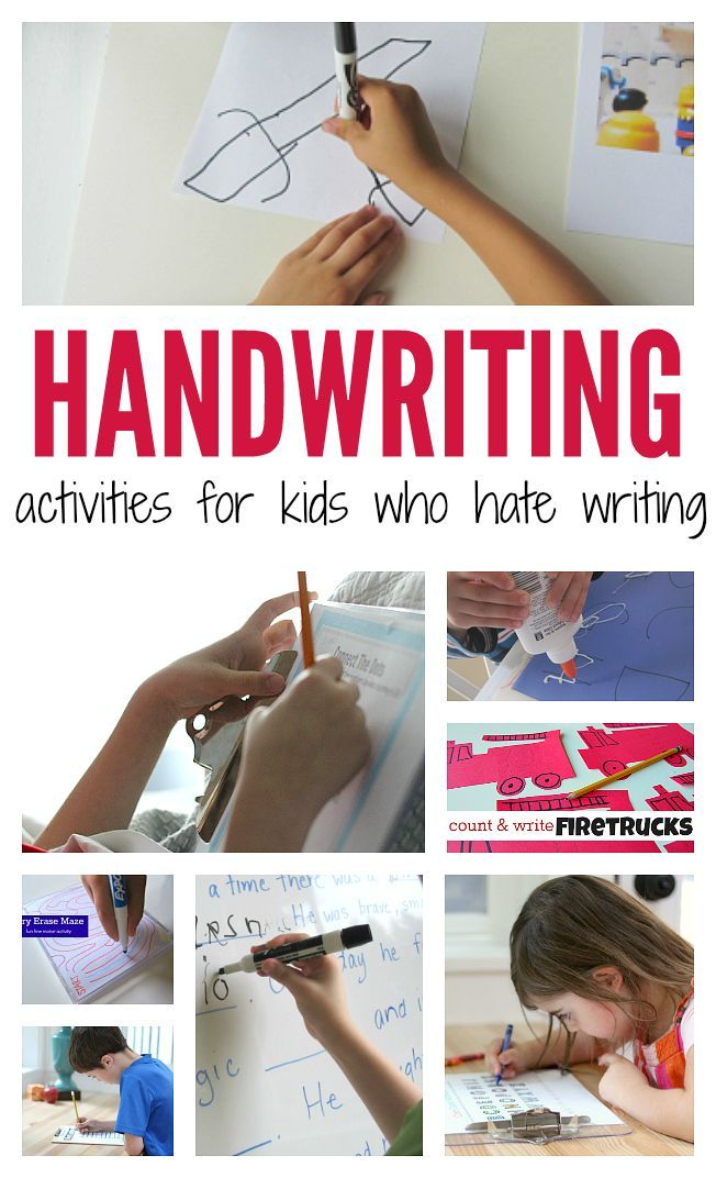 21 Handwriting Activities For Kids Who Hate Writing from @noflashcards