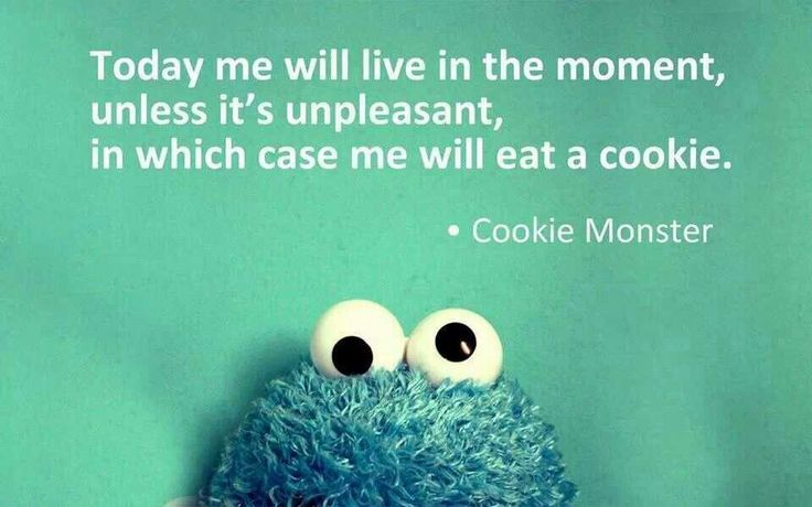 I love Cookie Monster :-)