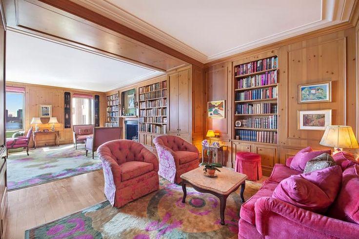 V byte je využitá odvážna paleta farieb, najmä ružová a zelená, ktoré herečka milovala.