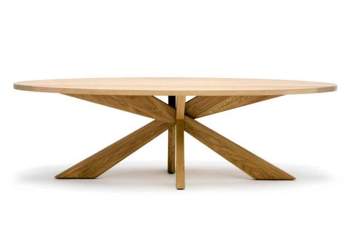 De ovale tafel longlegs is het bekendste ontwerp van arp een mooie en vooral praktische tafel - Tafel een italien kribbe ontwerp ...