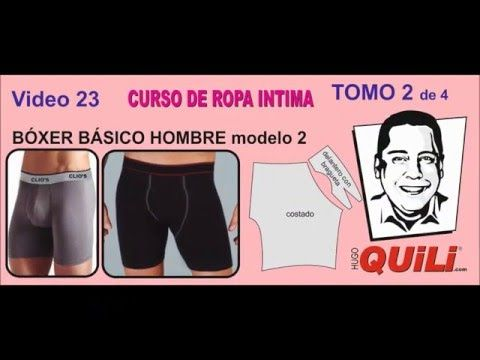 PANTALONCILLO BIKINI TOMO 2 Curso de ropa intima - YouTube