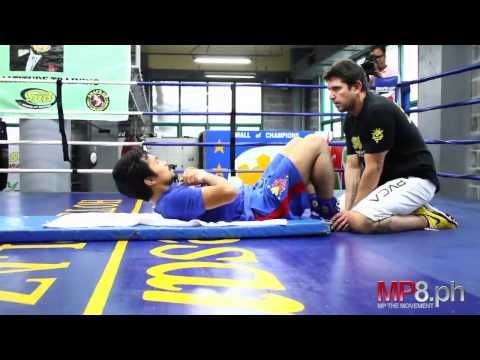 Manny Pacquiao - The Manny Pacquiao Intensive AB workout Plan
