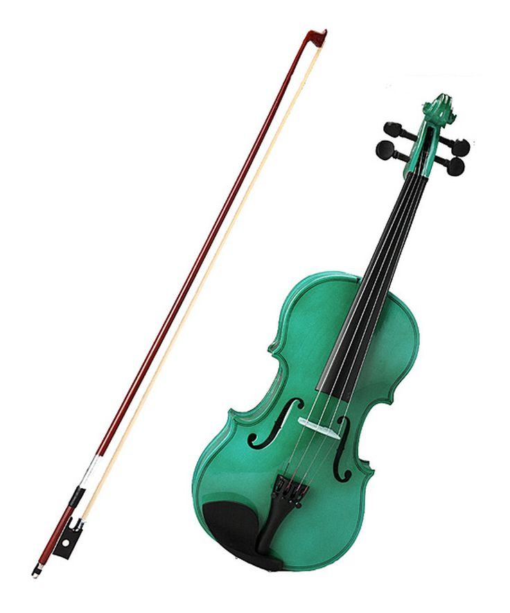 Love this Green Full-Size Violin Set by New Dimensions on #zulily! #zulilyfinds