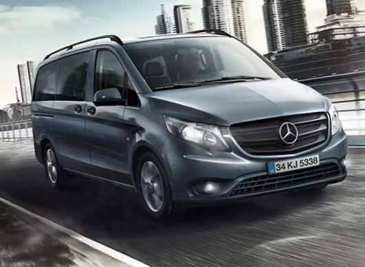 Vito Kombi (W447) Mercedes used - http://autotras.com