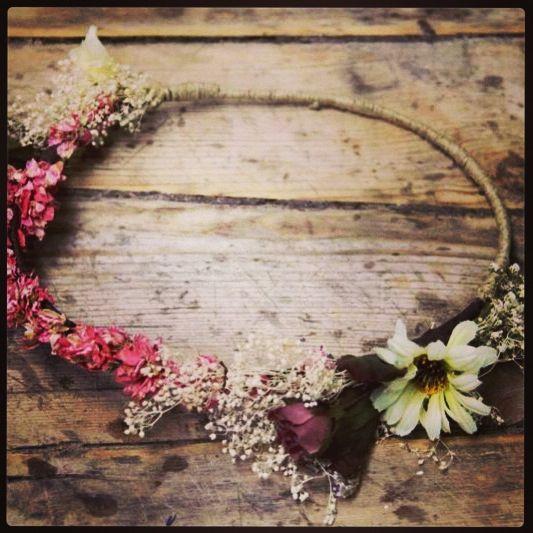 Corona de flores sweetboheme