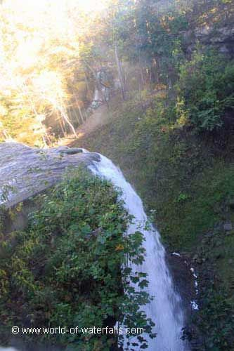 This was the closest view of DeCew Falls we could get, which came from inside the Morningstar Mill, Niagara Greenbelt / St Catharines, Ontario, Canada