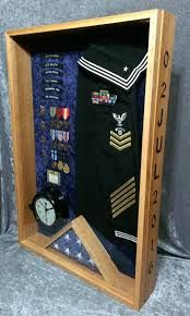 Image result for making a display for navy uniform