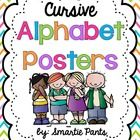 Cursive Bright Chevron Alphabet Posters! These posters come in full and half sheet sizes:) The posters coordinate with our bright chevron behavior ...