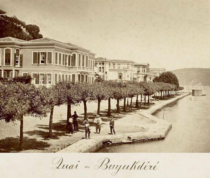 OTTOMAN ISTANBUL, BÜYÜKDERE, 1880s