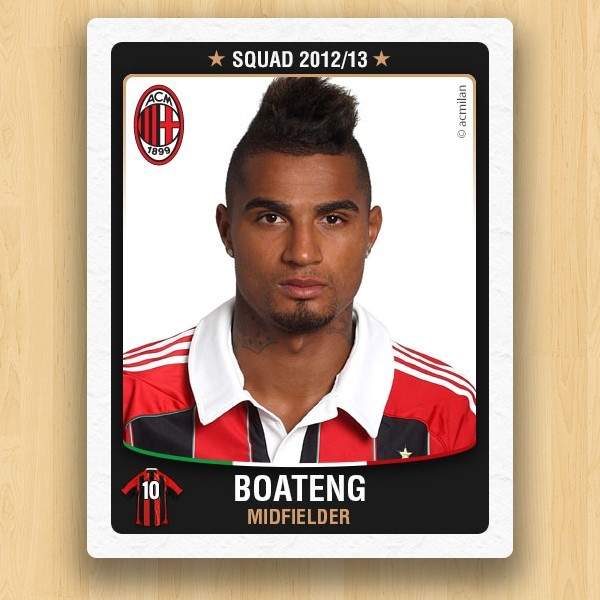A.C. Milan Collections - Kevin-Prince Boateng