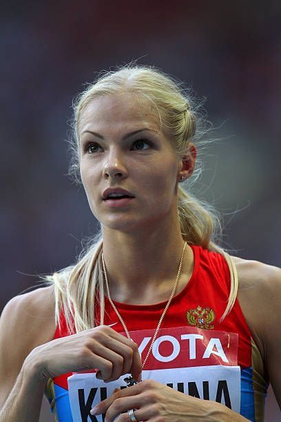 Long jump Darya Klishina RUS