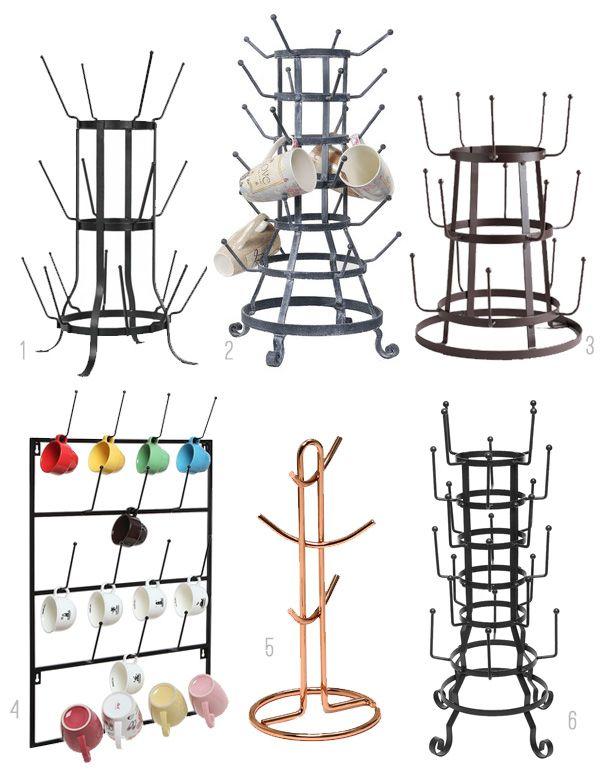 Mug Trees and Mug Racks - The Inspired Room