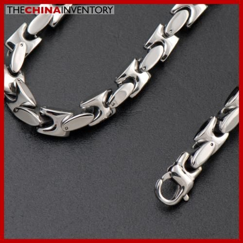 9MM 22` HEAVY STAINLESS STEEL MARINE NECKLACE N2409
