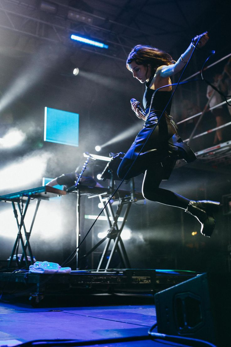 Chvrches,Electronic pop band from Glasgow, Scotland. http://www.facebook.com/CHVRCHES...