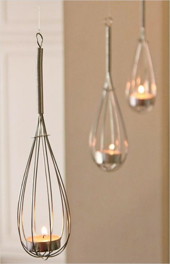 How to DIY whisk lights. @weddingchicks