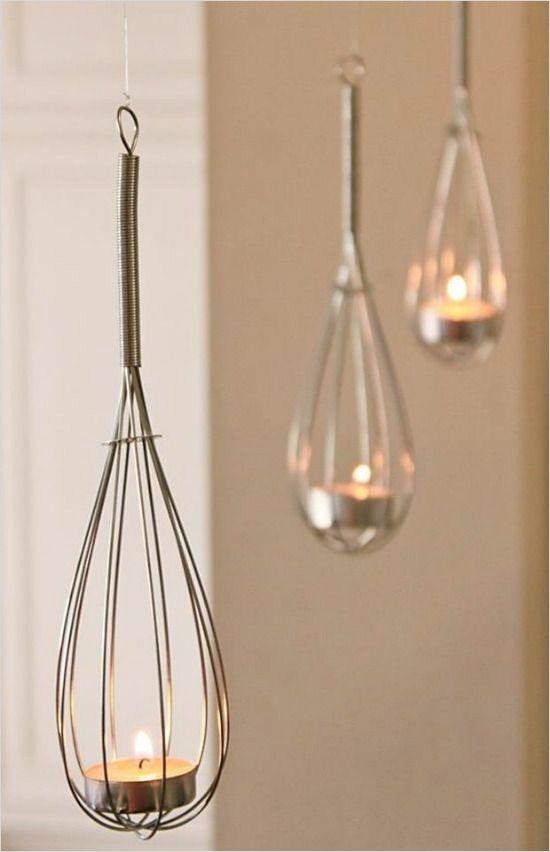 How to DIY whisk lights. @weddingchicks
