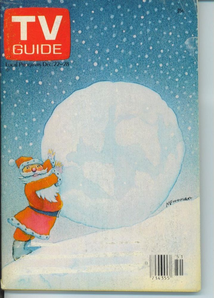 TV GUIDE DECEMBER 22 1979 CHRISTMAS TOM POSTON GAMMA JONES~CHICAGO EDT