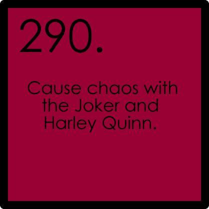 ;): The Joker, Bucketlist Ideas, Fictionbucketlist