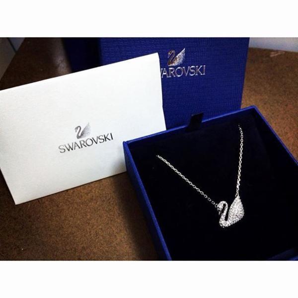 Swan Necklace - Jewelry - Swarovski Online Shop