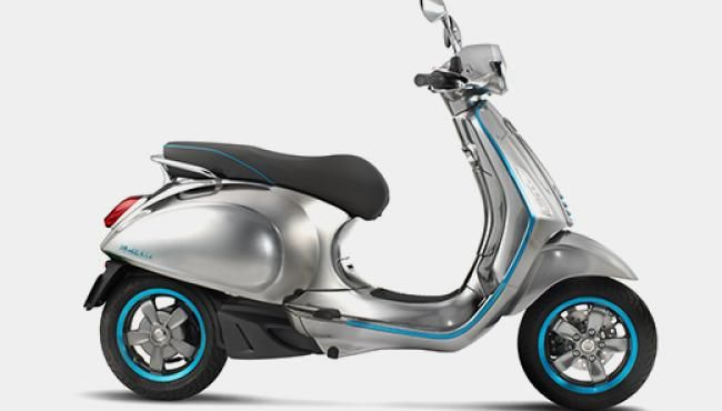 Vespa Elettrica: Iconic Vespa Scooter Goes Electric