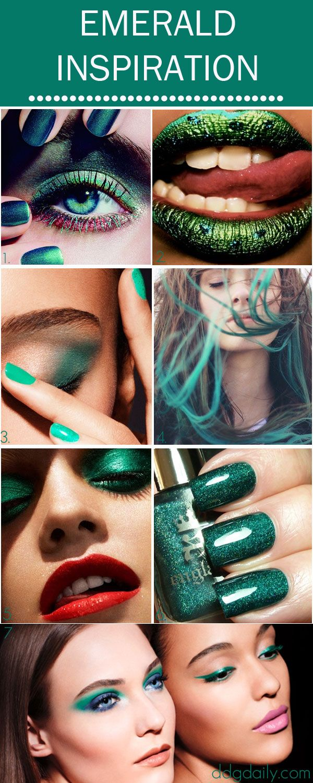 Emerald Green Makeup Inspiration