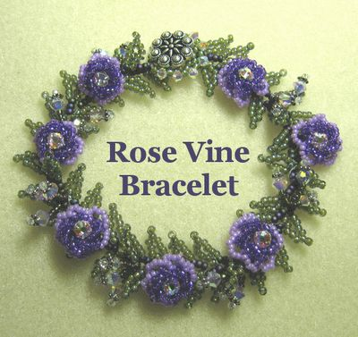 Janie's Beads: Bracelet Base Continued  >>>some bracelet ideas on the site<<<