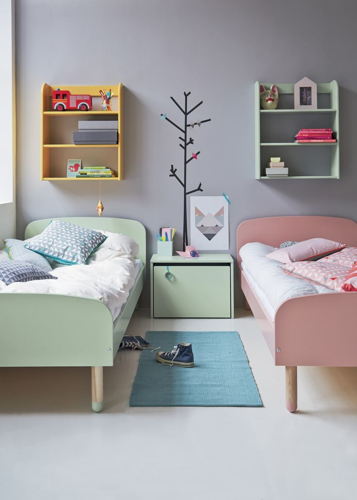The Danes really do it best. Flexa PLAY bed.