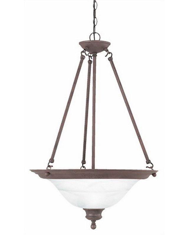 Thomas Lighting SL8634-81Three Light Pendant Chandelier in Tile Bronze Finish | Quality Discount Lighting | Major Brands at 60-80% Off