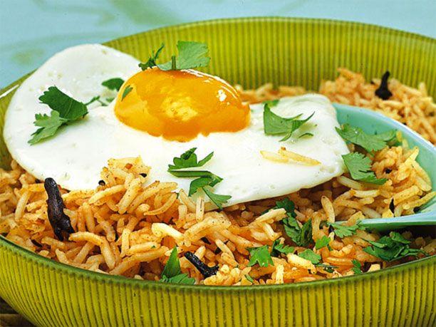 Zum Rezept für Gebratenen Reis