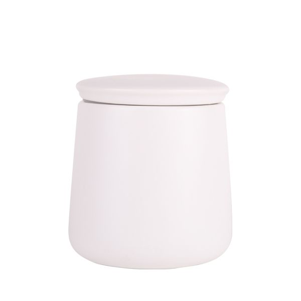 Soho Medium Canister - White