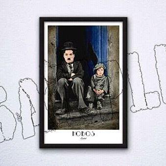 Hobos  #digitalart #photomanipulation #charliechaplin