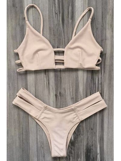 SHARE & Get it FREE   Elastic Spaghetti Straps Solid Color Bikini SetFor Fashion Lovers only:80,000+ Items • New Arrivals Daily Join Zaful: Get YOUR $50 NOW!