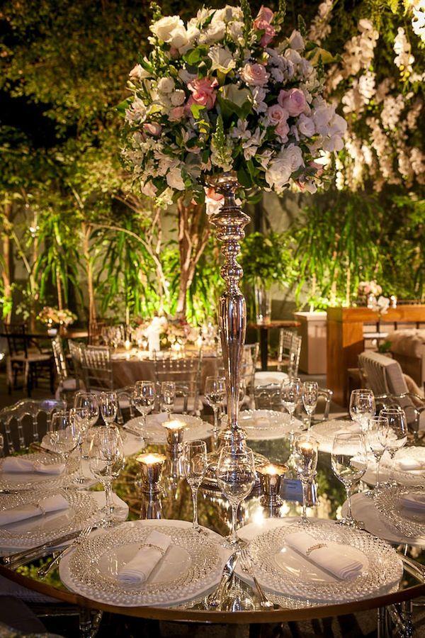 Casamento Romântico Cheio de Luzinhas   Vestida de Noiva   Blog de Casamento por Fernanda Floret