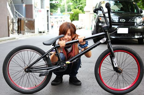 bmx and girl wallpaper - photo #17