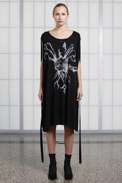 s/s 13/14 womens key looks - W12. square dance in black organic.