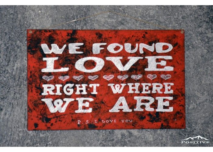 We found love right where we are