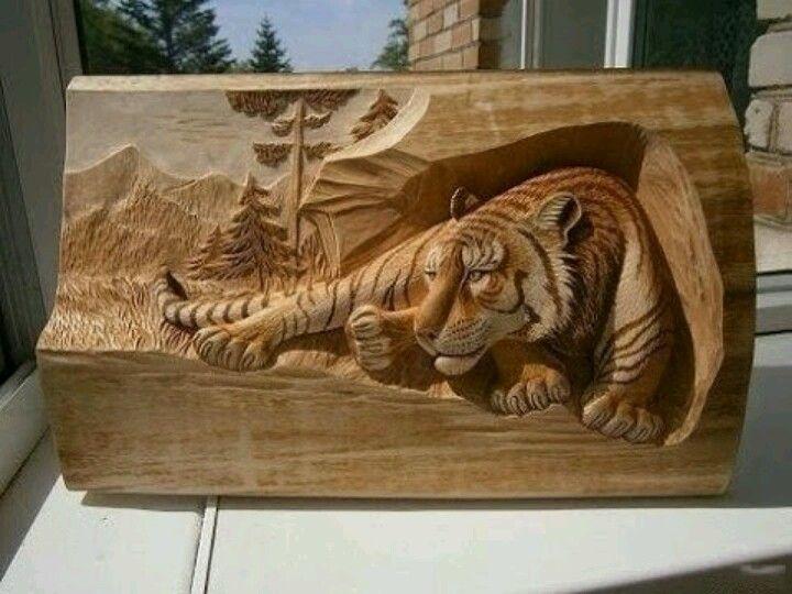 tallado en madera arte 3d woodcarving pinterest 3d
