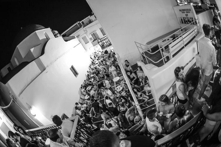 View From The #Club #Skandinavian-Bar-Mykonos #Mykonos-Nightclubs #Mykonos-Discoteche