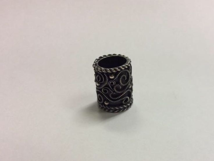 925 nickel free sterling silver ring for a beard! Piercingheartbeat@gmail.com