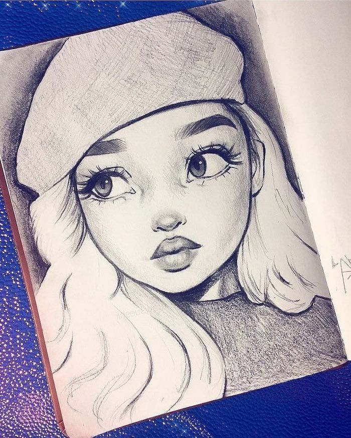 ▷ 1001 + ideas how to draw a girl – tutorials an…