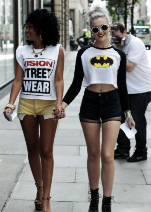 Little mix style- I like Perrie's outfit