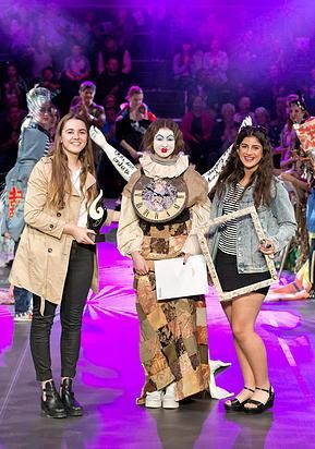 Schools Trash to Fashion Awards - run annually, check out www.st2f.co.nz