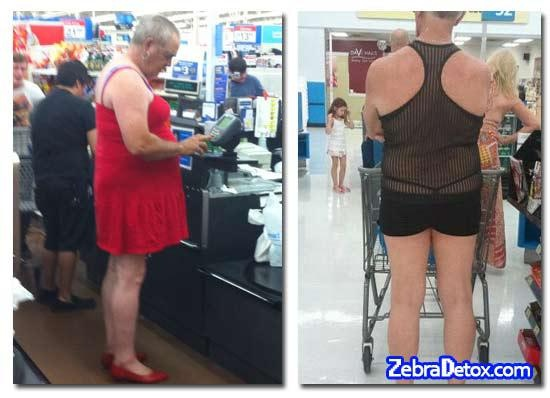 Meanwhile In Wal-Mart. Attention WalMart Shoppers, get your cell phone cameras ready for the crack shots you might sight in our various departments, riding carts, or cheekily hanging out. Thongs are flashing, unseemly marks are stinking. You can pinterest your pic, or Instagram or tumbler under humor because they wanted you to see it!  Full MooNs, 1/4 moons or is that a man in a dress...  they're flashing!!