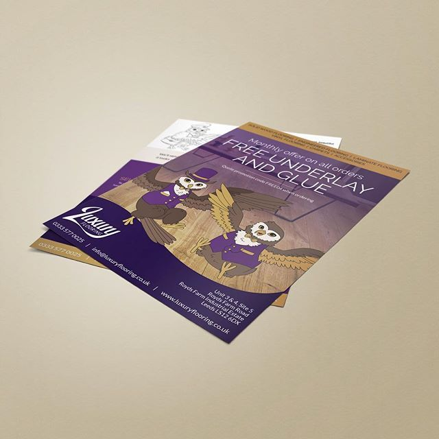 Although our specialisation is digital, we do a great job in print as well!  #graphicdesign #print #leaflet #flyer #printdesign #print