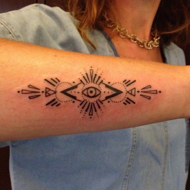 eye tattoo by minka sicklinger