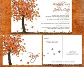 Fall in Love Wedding Invitations