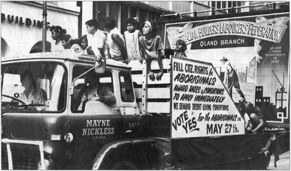 The referendum in 1967. Australia