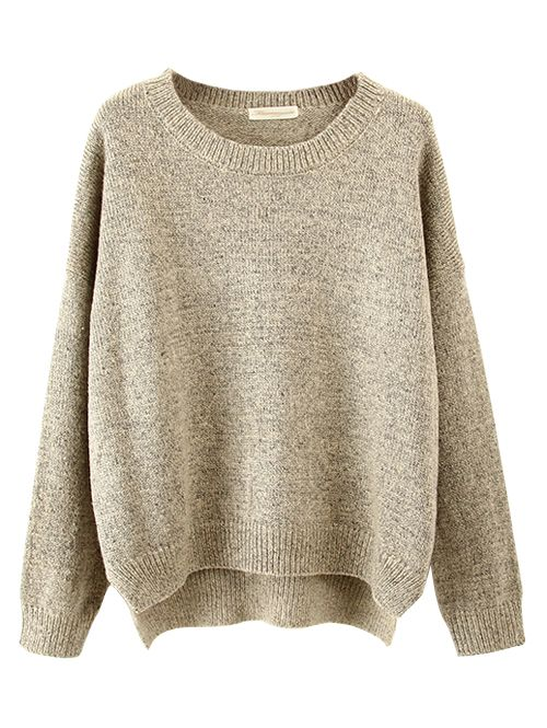 Wholesale Casual solid color batwing sleeve pullover sweater MS-P1665 - Lovely Fashion